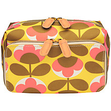 Buy Orla Kiely Oval Flower Double Wash Bag Online at johnlewis.com