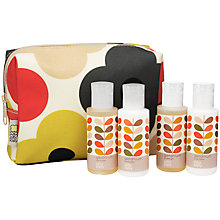 Buy Orla Kiely Mini Christmas Geranium Travel Set Online at johnlewis.com