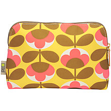 Buy Orla Kiely Oval Flower Cosmetic Wash Bag Online at johnlewis.com