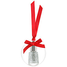 Buy MAVALA Nail Polish in Clear Bauble, 5ml, Silver Diamond Online at johnlewis.com