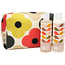 Buy Orla Kiely Geranium Large Wash Bag Set, 2 x 250ml Online at johnlewis.com
