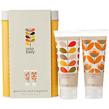 Buy Orla Kiely Hand Cream Duo Set, 2 x 100ml Online at johnlewis.com