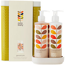 Buy Orla Kiely Geranium Bath & Body Hand Wash Set, 2 x 250ml Online at johnlewis.com