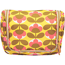 Buy Orla Kiely Oval Flower Hanging Wash Bag Online at johnlewis.com