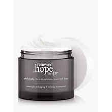 Buy Philosophy Renewed Hope in a Jar Night Cream, 60ml Online at johnlewis.com