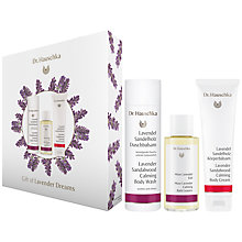 Buy Dr Hauschka Lavender Dreams Bodycare Gift Set Online at johnlewis.com