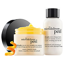 Buy Philosophy The Microdelivery Peel Limited Edition Gift Set Online at johnlewis.com