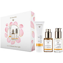 Buy Dr Hauschka Ultimate Rose Light Kit Gift Set Online at johnlewis.com