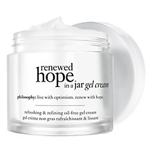 Buy Philosophy Renewed Hope in a Jar Oil-Free Gel Cream, 60ml Online at johnlewis.com