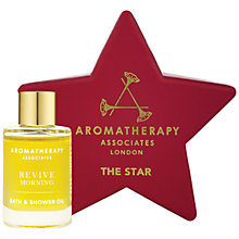 Buy Aromatherapy Associates The Star Morning Bath & Shower Oil, 9ml Online at johnlewis.com