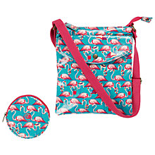 Buy Fat Face Flamingo Bag & Purse Set, Green Online at johnlewis.com