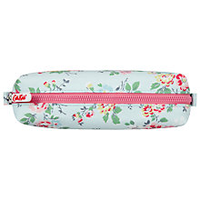Buy Cath Kidston Kingswood Rose Pencil Case, Blue Online at johnlewis.com
