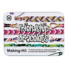 Buy Friendship Bracelet Jewellery Making Kit, Multi Online at johnlewis.com