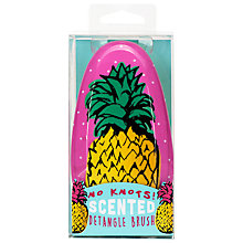 Buy Pineapple Scented Detangle Hair Brush, Pink Online at johnlewis.com