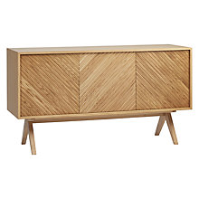 Buy Bethan Gray for John Lewis Newman 3-Door Sideboard, Oak Online at johnlewis.com