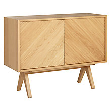 Buy Bethan Gray for John Lewis Newman 2-Door Small Sideboard, Oak Online at johnlewis.com