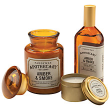 Buy Paddywax Apothecary Amber and Smoke Scented Candle Online at johnlewis.com