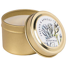 Buy Paddywax Flower Market Freesia and Apricot Scented Candle Tin Online at johnlewis.com