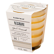 Buy Paddywax Mixology Negroni Scented Candle Online at johnlewis.com