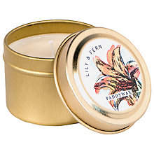 Buy Paddywax Flower Market Lily and Fern Scented Candle Tin Online at johnlewis.com