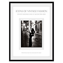 Buy Icons Of Vintage Fashion Book Online at johnlewis.com