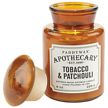 Buy Paddywax Apothecary Tobacco and Patchouli Scented Candle Online at johnlewis.com