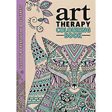 Buy Art Therapy Colouring Book Online at johnlewis.com