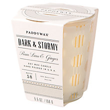 Buy Paddywax Mixology Dark and Stormy Scented Candle Online at johnlewis.com