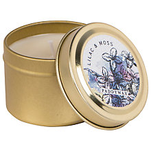 Buy Paddywax Flower Market Lilac and Moss Scented Candle Tin Online at johnlewis.com
