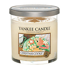 Buy Yankee Candle Christmas Cookie Scented Candle, Small Online at johnlewis.com
