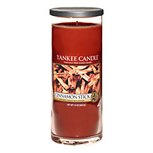 Buy Yankee Candle Cinnamon Scented Candle, Large Online at johnlewis.com
