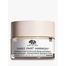 Buy Origins Three-Part Harmony™ Nourishing Cream, 50ml Online at johnlewis.com