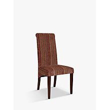 Buy John Lewis Maharani Upholstered Dining Chair, Raspberry Stripe Online at johnlewis.com