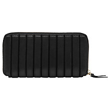 Buy Reiss Smerdon Leather Purse, Black Online at johnlewis.com