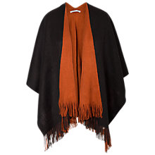 Buy Chesca Reversible Wrap, Black/Rust Online at johnlewis.com