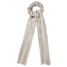 Buy Phase Eight Jenna Scarf, Neutral Online at johnlewis.com