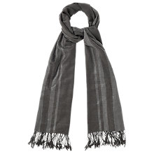 Buy Phase Eight Victoria Scarf, Charcoal Online at johnlewis.com