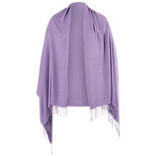 Buy Chesca Fringed Pashmina Wrap Online at johnlewis.com