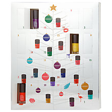 Buy CHEEKY Nail Polish Advent Calendar, 24 x 5 ml Online at johnlewis.com