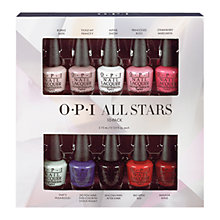 Buy OPI All Stars Starlight Holiday Collection Pack, 10 x 3.75ml Online at johnlewis.com
