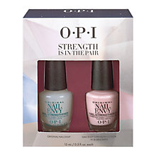 Buy OPI Strength is in the Pair Nail Envy Strengthener Set, 2 x 15ml Online at johnlewis.com