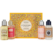 Buy L'Occitane Shower Gel Collection Skincare Gift Set Online at johnlewis.com