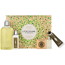 Buy L'Occitane Invigorating Verbena Collection Online at johnlewis.com