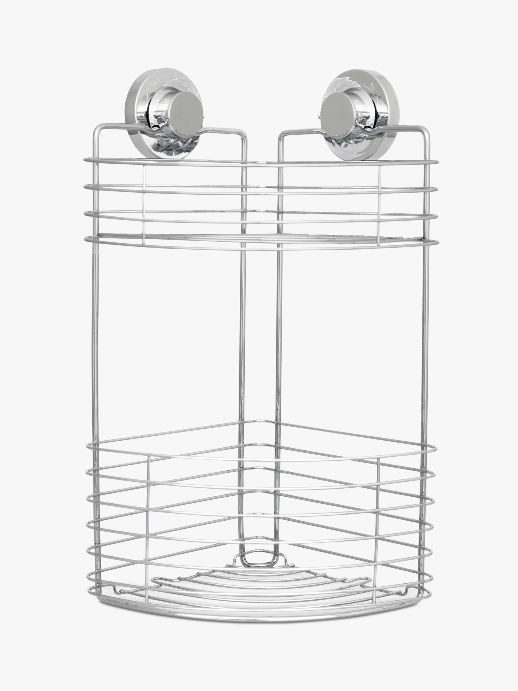 Bliss Bliss Lock N Roll 2 Tier Suction Shower Corner Basket