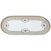 Buy PiP Studio Big Floral Tray, Khaki Online at johnlewis.com