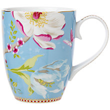 Buy Pip Studio Chinese Garden Large Mug, Blue Online at johnlewis.com