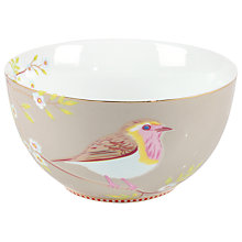 Buy Pip Studio Early Bird Bowl, Khaki Online at johnlewis.com
