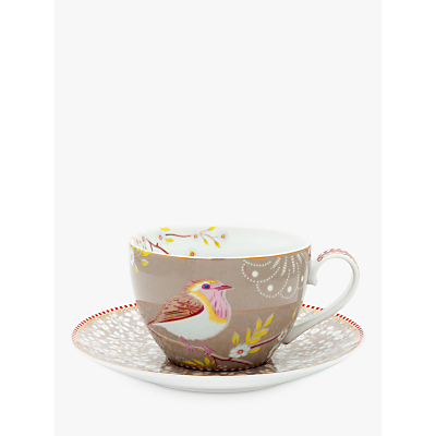 PiP Studio Early Bird Cappuccino Cup and Saucer