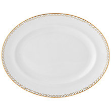Buy Vera Wang Swirl Bone China Oval Platter Online at johnlewis.com