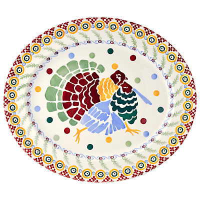 Emma Bridgewater Polka Dot Christmas Turkey Platter